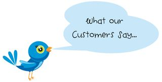 Web what our customers say