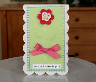 Cch march you make me happy card