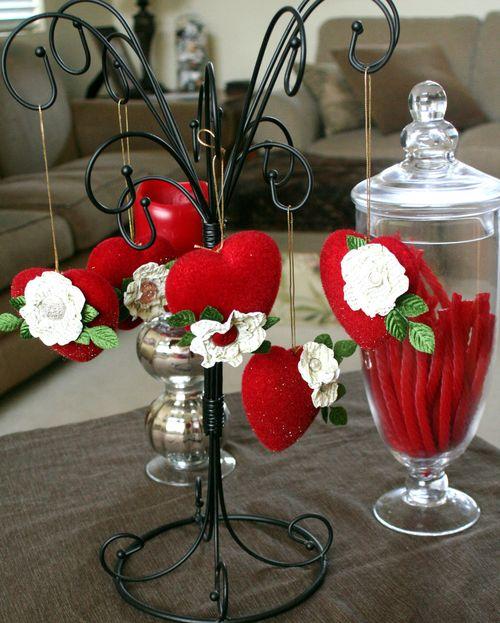 Valentine hanger