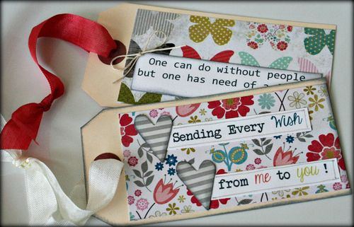 Card tag august