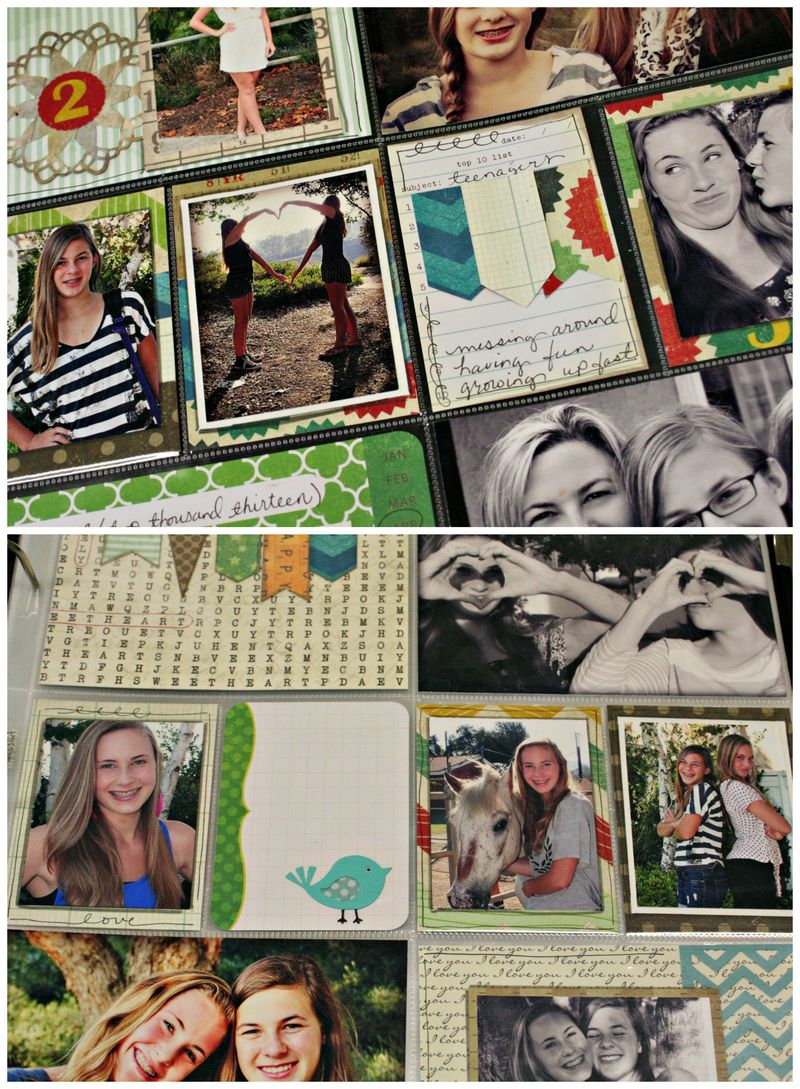 Project life collage