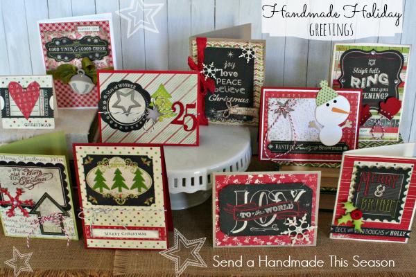 Handmade holiday greetings