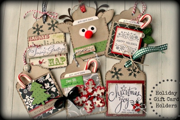 Holiday Gift Card Holders 600x400