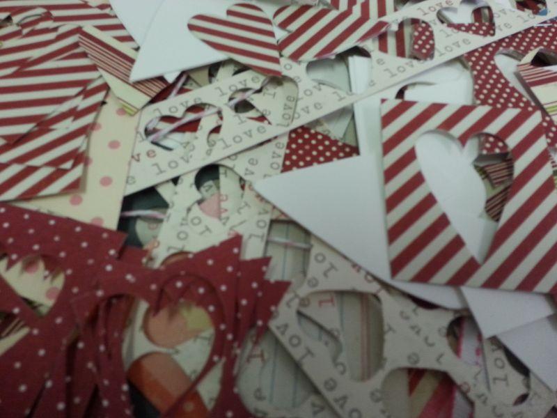 Valentine scraps