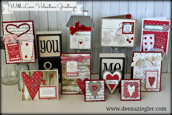Valentine collage