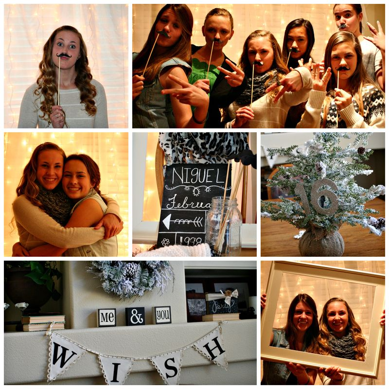 Sweet 16 collage