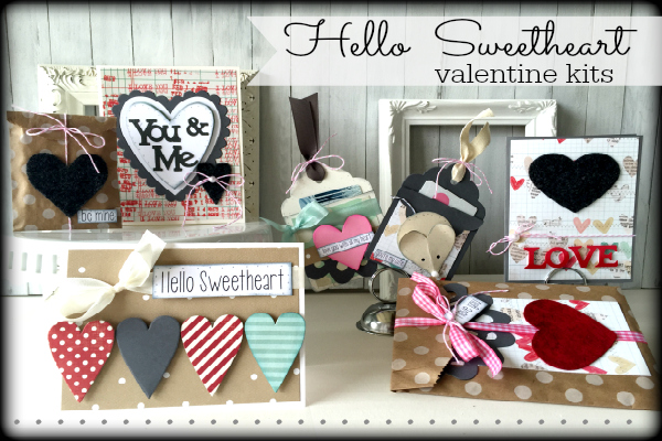 Hello Sweetheart valentine kit