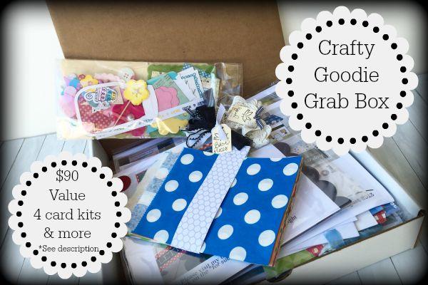 Crafty goodie grab box