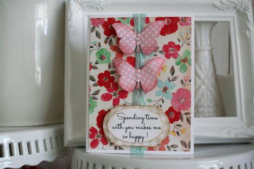 Celebrate card butterfly